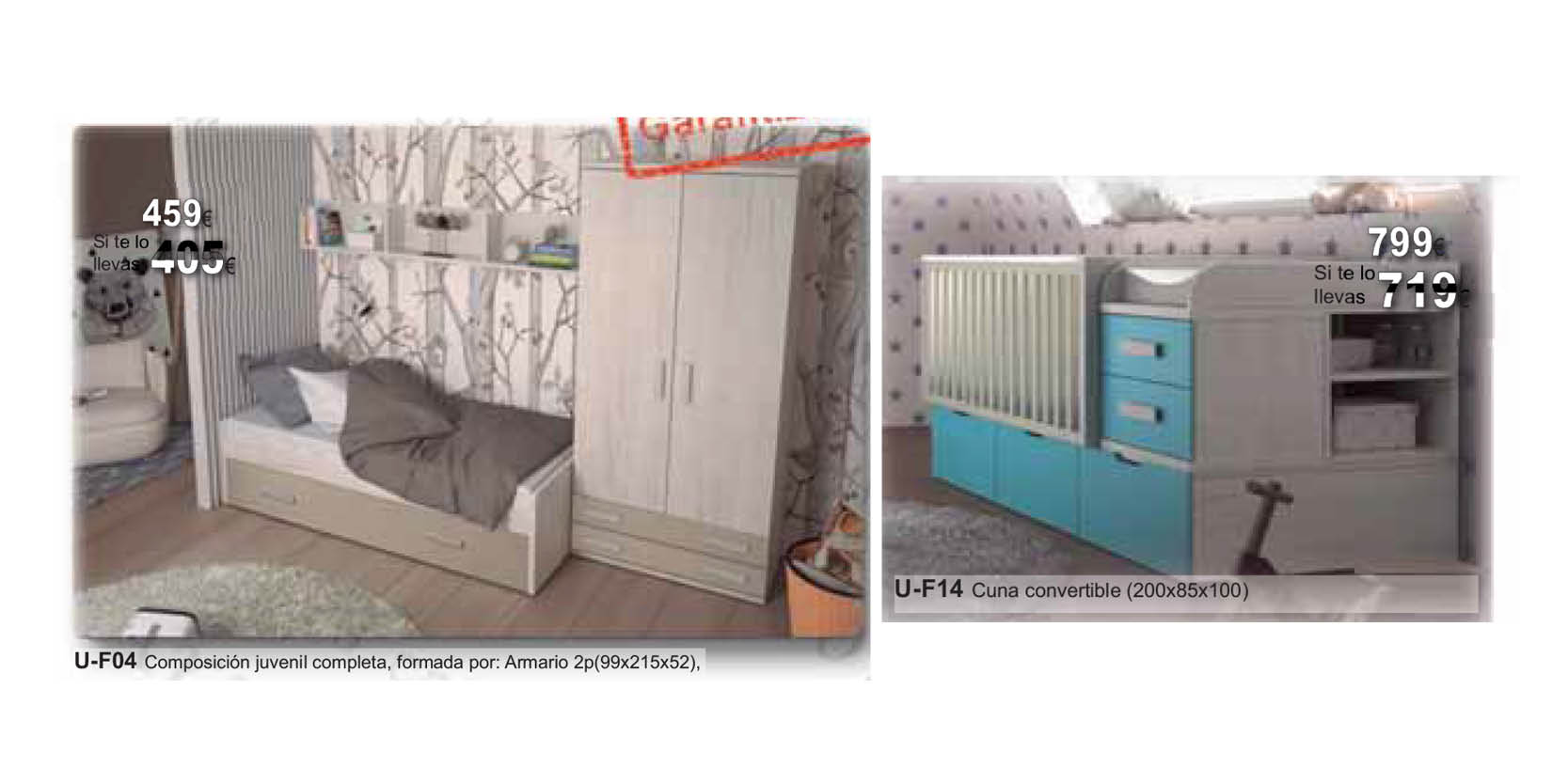 oferta muebles